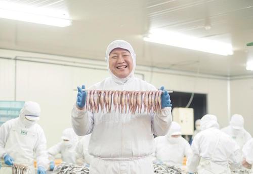 赤平で作るから、うちの魚はおいしいのさ。岡田水産北海道