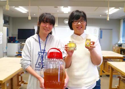高校生が取り組むミツバチプロジェクト