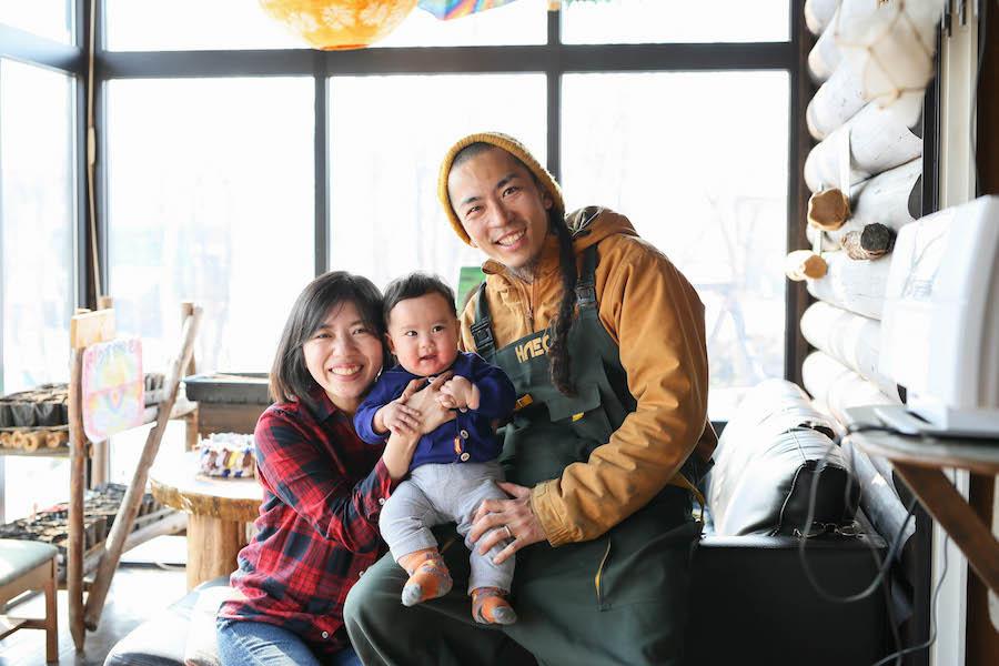 新十津川でロマン溢れる家族のかたち