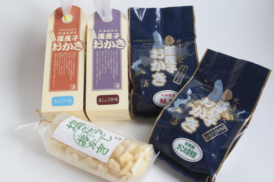 オール北海道のおかきを!株式会社北海道米菓フーズ