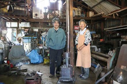 ストーブをつくり続ける75歳の職人。 トミワ技研興業