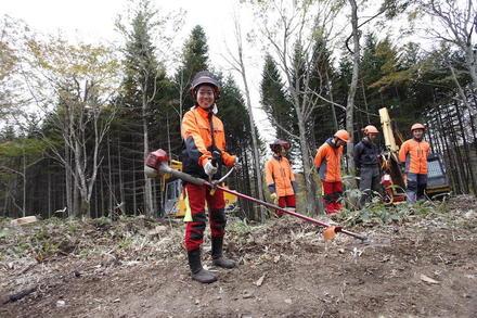 自然と関わる仕事をしたくて「林業」へ