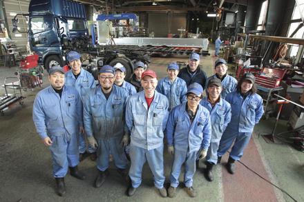 北海道仕様のトラックを!株式会社新明和製作所