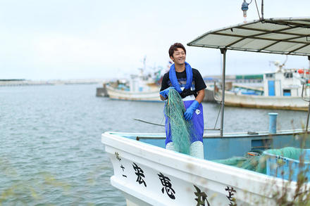 新しい漁業の在り方を模索する苫前の漁師。