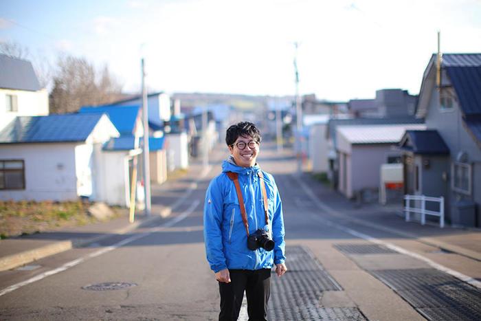 幸せな生き方と働き方を地元に見出した若者。