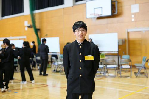 理想の生き方を追い求める中学2年生、武田くん