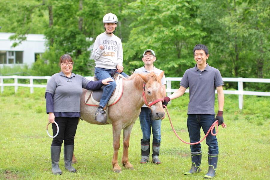 馬と自然と、まちへの想い。3人の大滝移住物語。