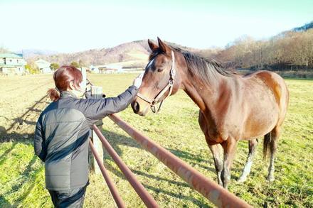 繋いだ命の先に見る、愛馬と牧場の未来。