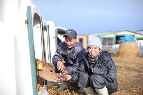 牛も人も、みんなが気持ち良く暮らせる牧場を目指して