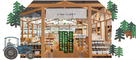 「北海道くらし百貨店」関東圏初!3月20日オープン!