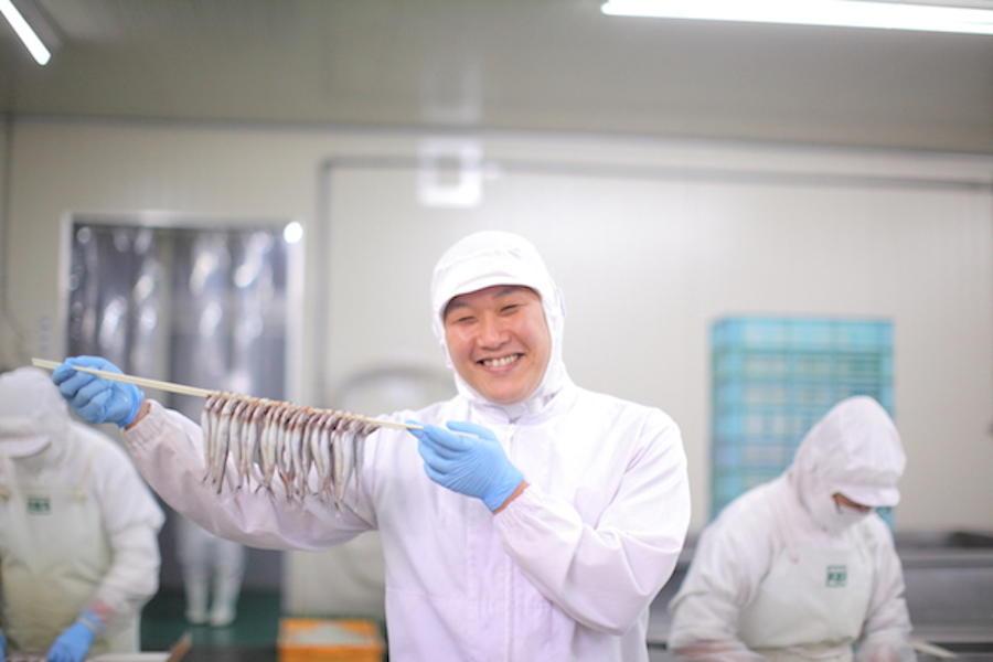 確かな技術とまごころで おいしい魚を全国へ!岡田水産北海道(株)