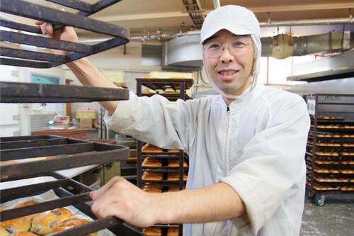 独自の視点でパンづくり!シロクマ・北海食品株式会社