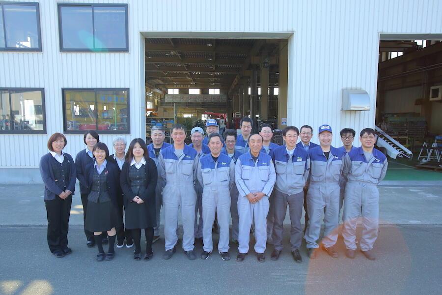 北海道のニンジンを守った機械メーカー オサダ農機(株)