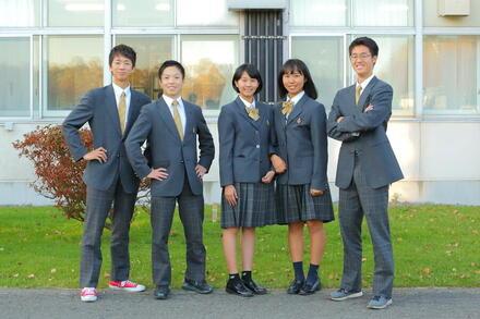 恵庭から未来へ羽ばたく高校生たち。