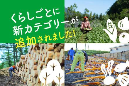 新カテゴリ「農スタイル」「森スタイル」「海スタイル」スタート!