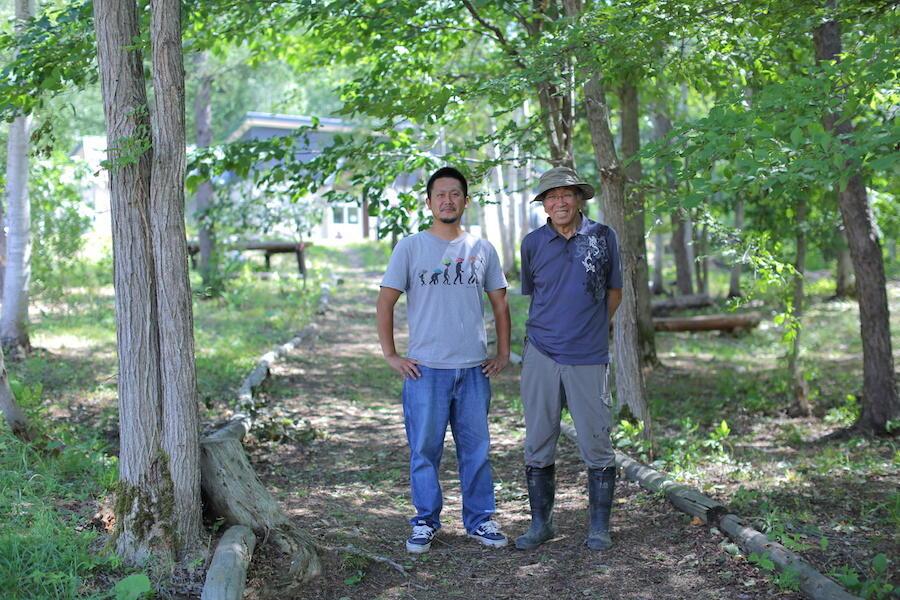障がい者と共に地域で生きるために拓いた森。当麻かたるべの森