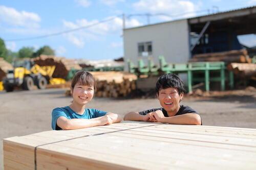 製材工場で地材地消、若手が明日の林業を支える。当麻町森林組合