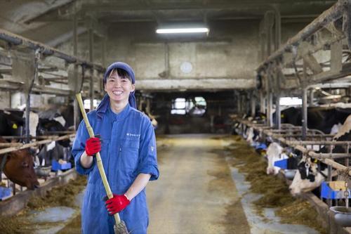 やっと見つけた自分の居場所。酪農ヘルパーとしての人生。