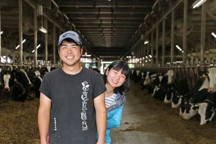 「北海道で牧場を持ち大好きな牛を飼う」二人三脚で歩む夢への道