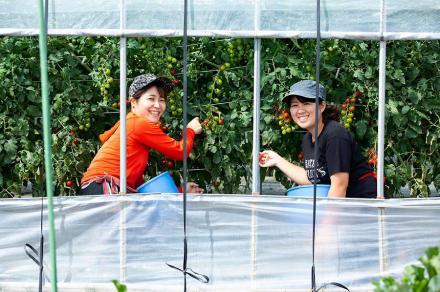 2人の単身女性が挑む、新規就農の道。