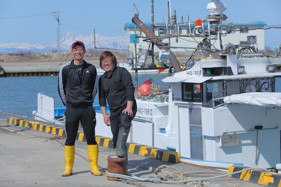 標津から全国へハッシン!進化し続ける新時代の漁師たち