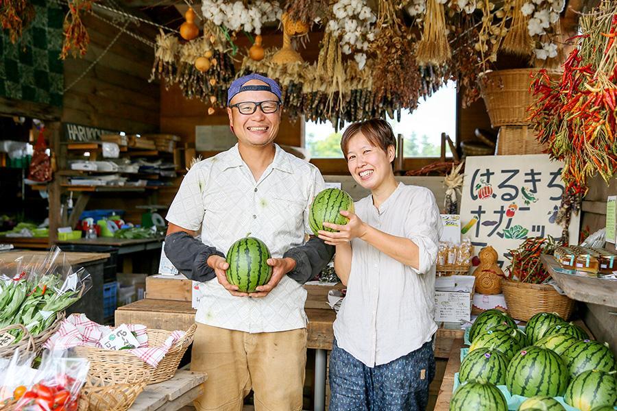 農園や直売所で生まれる、温かな絆と野望の話。