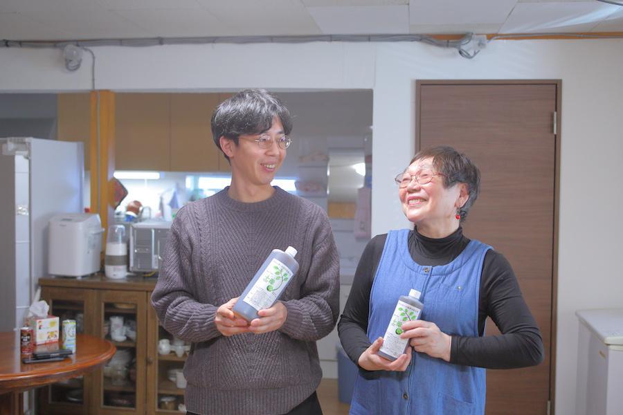 (株)環境セラピィと、後継者の福島健太さん